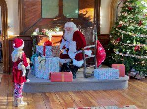 Santa at the Chapel